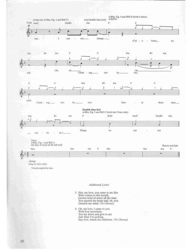 • Crash Into Me Words and Music by David Matthews .Ioderal~1y J • 10: elm7 Rhy_FiJ- I ,·Gtn. 1It II) mp ° AaMII (boIh &tn ...