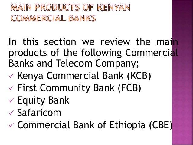 Comparison of Ethiopian and Kenyan Commercial Banks