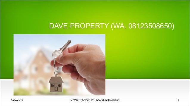 DAVE PROPERTY (WA. 08123508650) 4/22/2018 DAVE PROPERTY (WA. 08123508650) 1