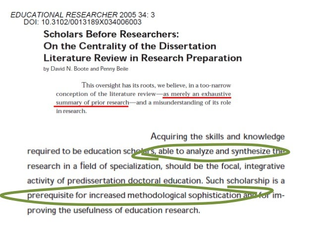 """scholars before researchers in the centrality of the dissertation literature A literature review situates your topic in relation to previous research and  """" scholars before researchers: on the centrality of the dissertation literature review  in."""