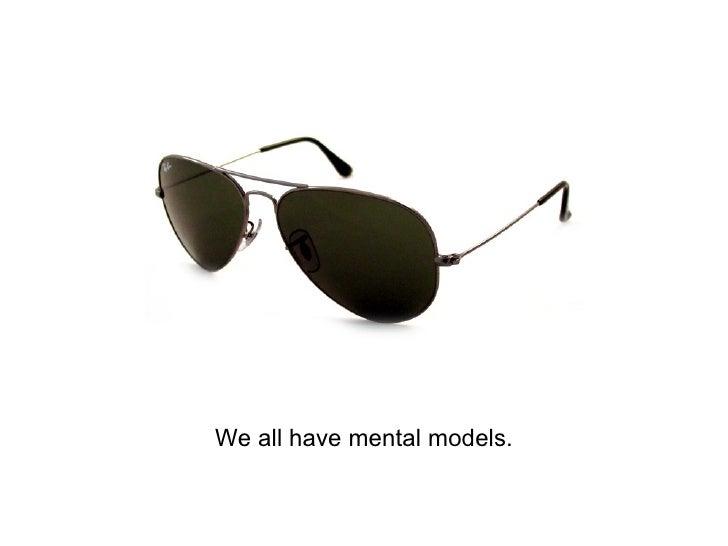We all have mental models.