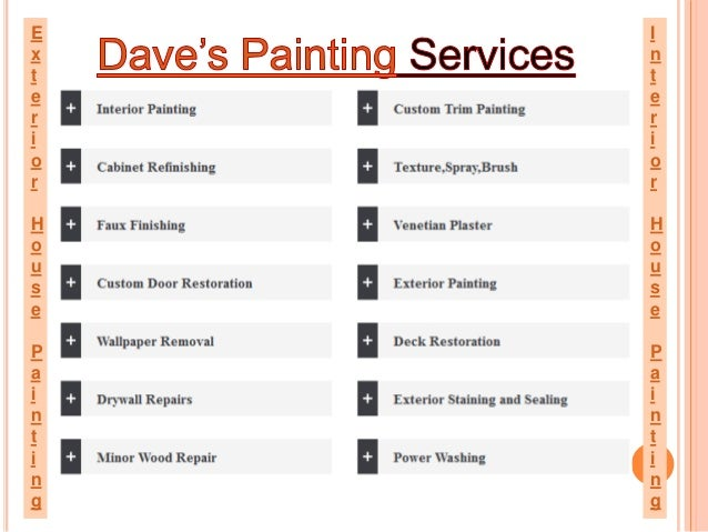 daves painting best offer