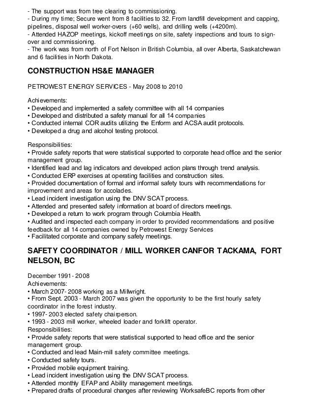Dave\'s resume