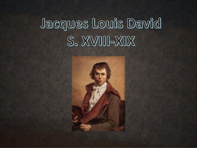 Jacques-Louis David est né à Paris le 30 août 1748, dans une famille de la petite bourgeoisie. Son père s'appelait Louis- ...
