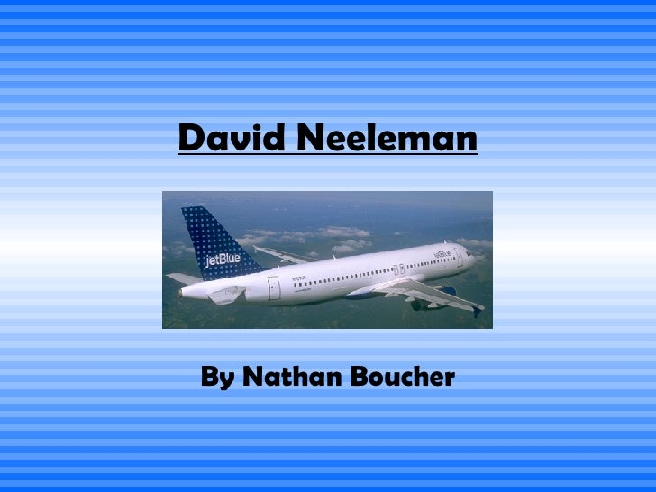 David Neeleman By Nathan Boucher
