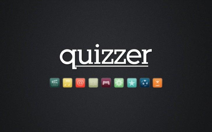 """IntroduksjonQuizzer er et """"turn-based"""" quiz-spill som gjør det mulig å konkurrere med vennene dineog andre spillere over h..."""