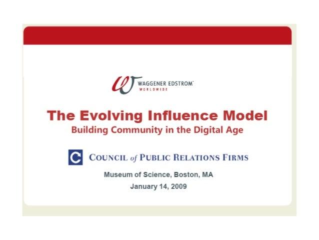 Boston Workshop: January 14, 2009: Building Community in the Digital Age