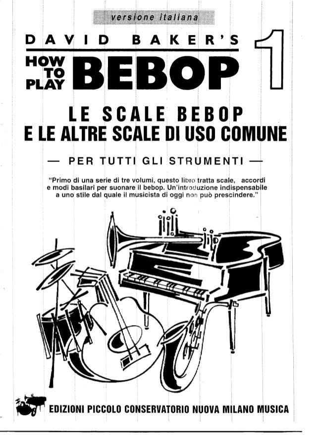David baker   how to play bebop vol 1-3