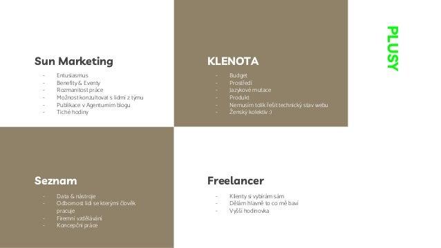 Agentura/In-house/Freelance - kde dělat SEO? Slide 3