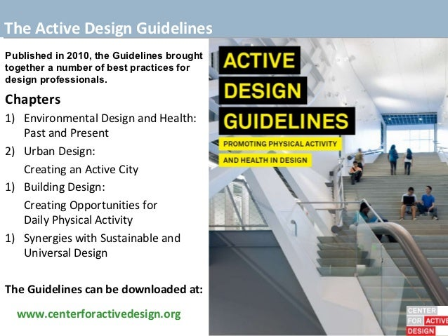 active adult design guideline