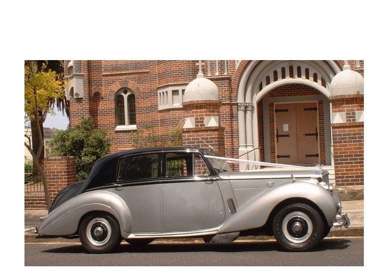Classic 2 tone silver Bentley<br />