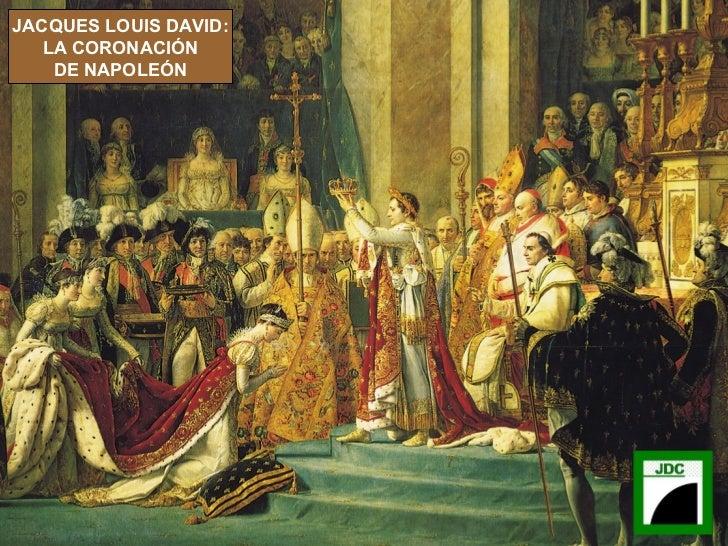 JACQUES LOUIS DAVID: LA CORONACIÓN DE NAPOLEÓN