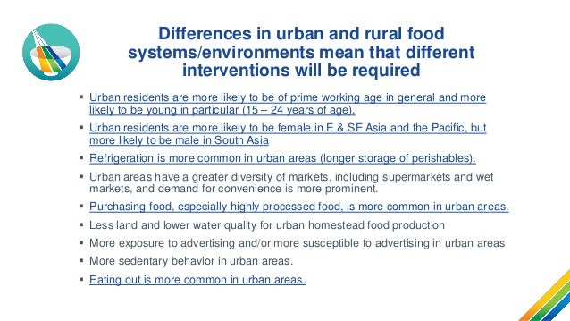 Urban food environments and malnutrition in Asia and the Pacific Slide 3