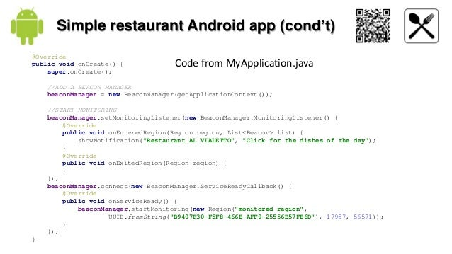 "a simple and robust android application Mobile application development ""the search for common ground in a divided market"" ben feigin."