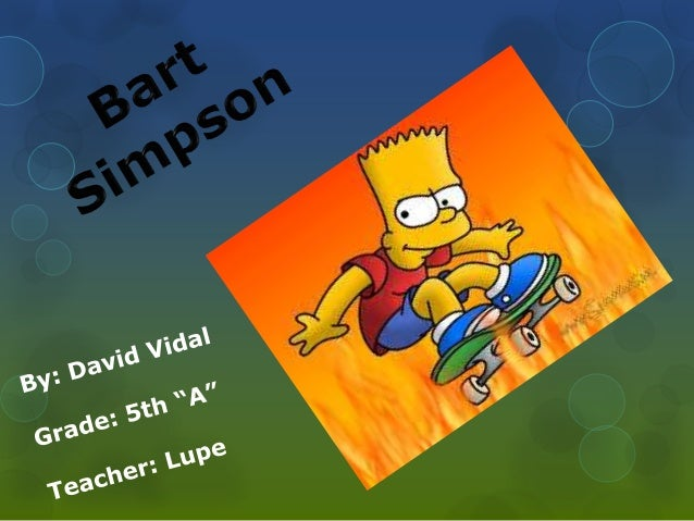 bart simpson personality