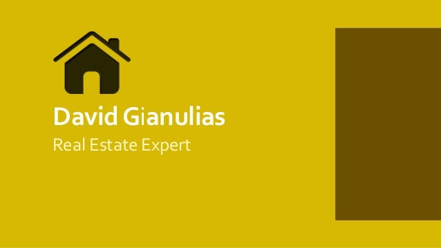 DavidGianulias Real Estate Expert
