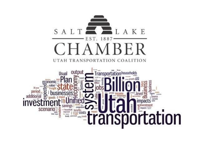 TRANSPORTATION & THE U.S. ECONOMY $2.4 Trillion – Annual U.S. Transportation Spending $2.5 Trillion – Cost of time for pas...