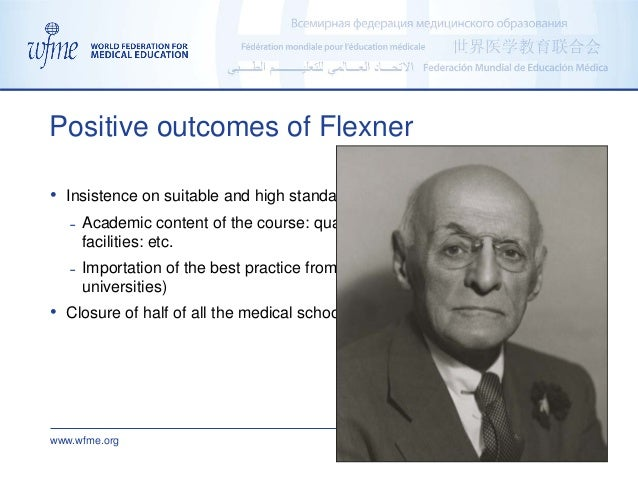 www.wfme.org admin@wfme.org • Insistence on suitable and high standards for medical education ˗ Academic content of the co...