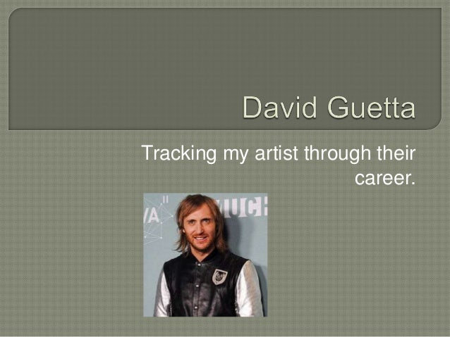 Tracking my artist through their                        career.
