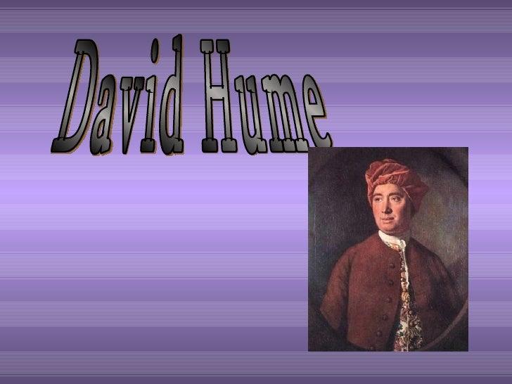La Credenza Per Hume : David hume