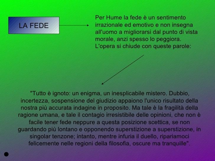 La Credenza Di Hume : David hume