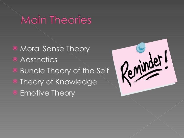 david hume s morality theory There are at least three interpretations of hume's theory  hume's sentimentalism about morality  while philosopher david o'connor argues that hume's.