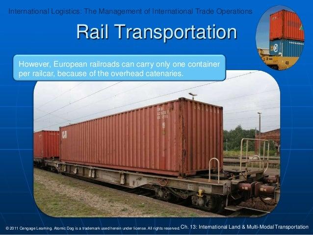 international logistics 3rd edition chapter 13