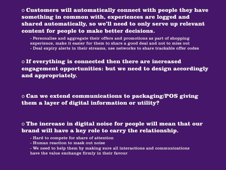 ...and throughout the entire  consumer decision-making process.                              Increase in number of brands/...