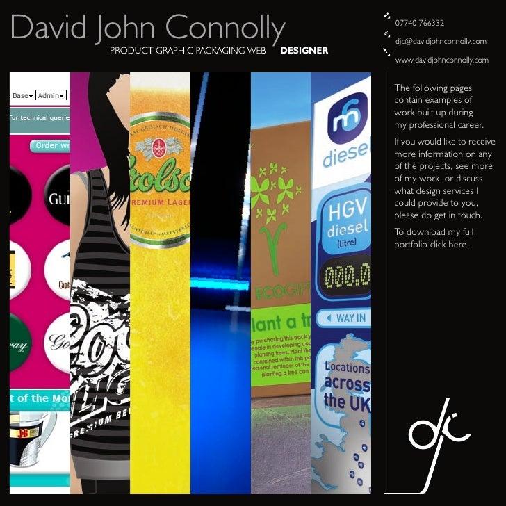 David John Connolly   07740 766332                        djc@davidjohnconnolly.com                        www.davidjohnco...
