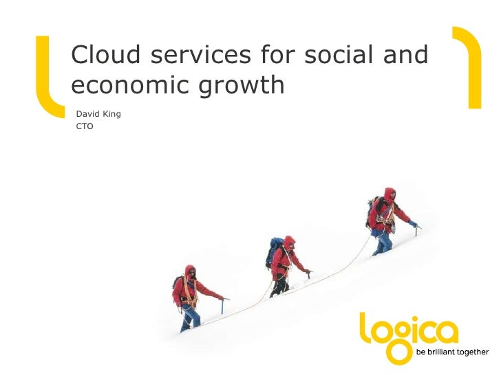 Cloud services for social and economic growth<br />David King<br />CTO<br />