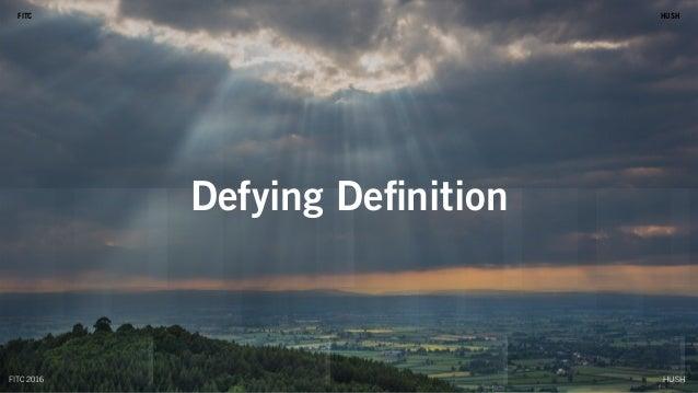 HUSHFITC Defying Definition HUSHFITC HUSHFITC 2016