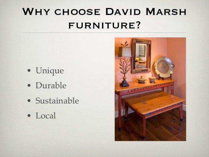 5. Why Choose David Marsh Furniture?