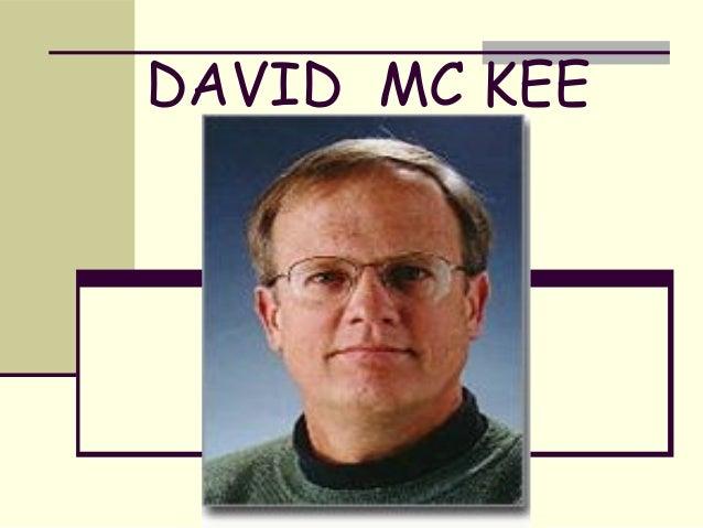 DAVID MC KEE