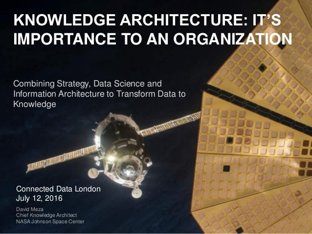 © 2015 IHS. ALL RIGHTS RESERVED. KNOWLEDGE ARCHITECTURE: IT'S IMPORTANCE TO AN ORGANIZATION Combining Strategy, Data Scien...