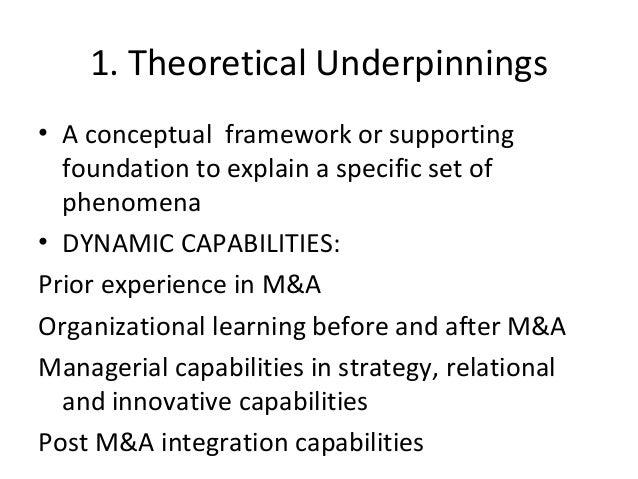 Behavioural foundations of dynamic capabilities framework