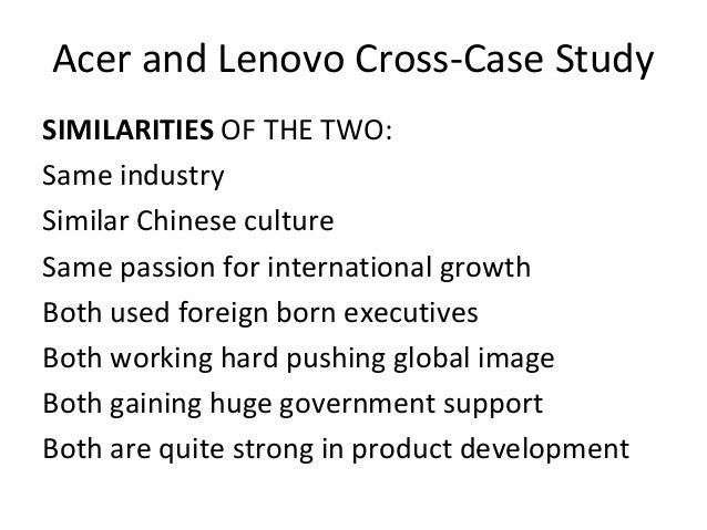 lenovo ibm orgnizational culture Ibm's corporate culture the international business machines corporate culture the culture of an organization is the set of values.