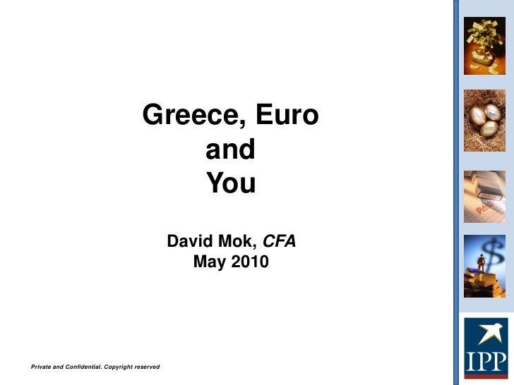Greece, Euro                                           and                                           You                  ...
