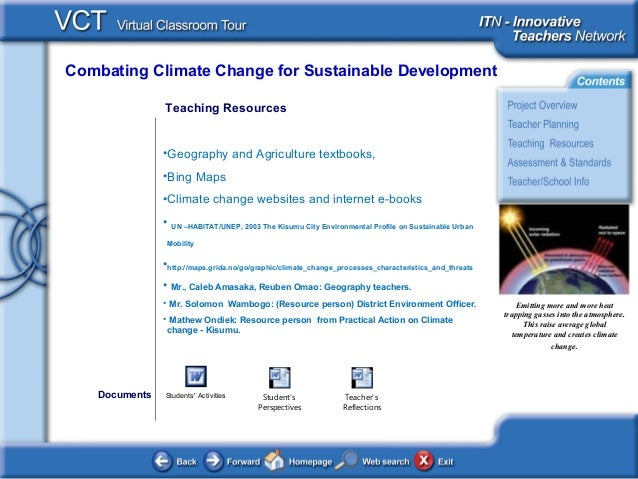climate change and sustainable development pdf