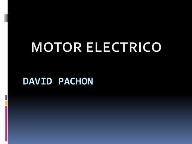DAVID PACHON