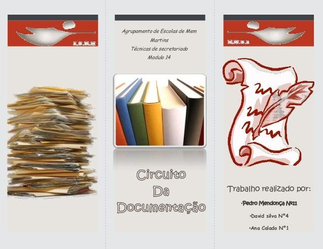 Trabalho realizado por: •Pedro Mendonça Nº11 •David silva Nº4 •Ana Calado Nº1 Agrupamento de Escolas de Mem Martins Técnic...