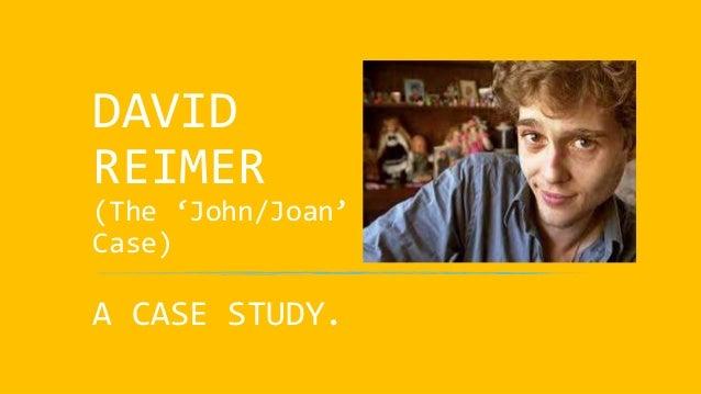 david reimer psychology paper