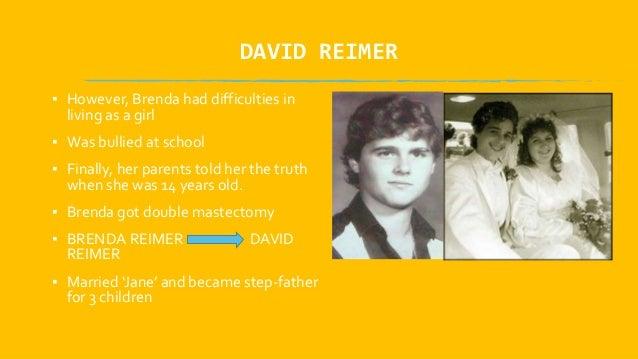 david reimer experiment