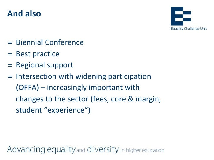 Promoting equality, diversity and inclusion in further education