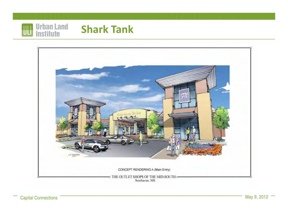 Shark TankCapital Connections                May 9, 2012