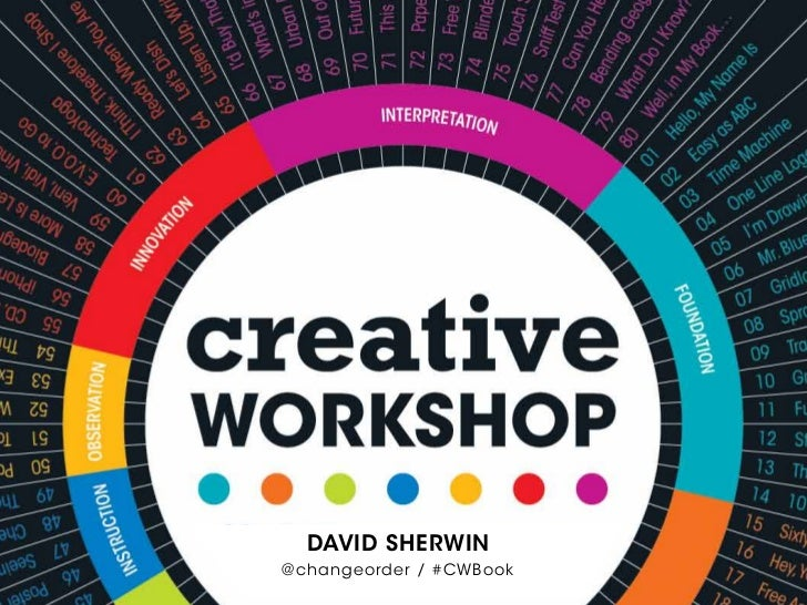 DaviD Sherwin@changeorder / #CWBook