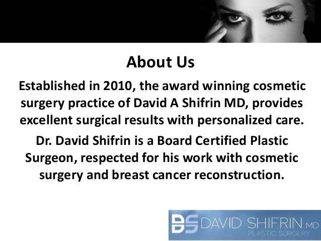 David Shifrin Plastic Surgery in Chicago