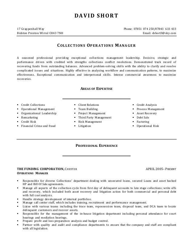 Davidshort resume revised