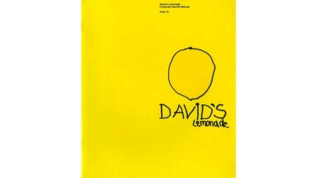 David's lemonade CI Manual