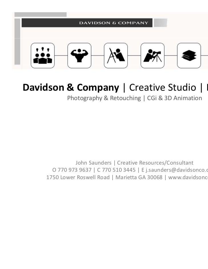 Davidson&Company|CreativeStudio|Est.1978Davidson & Company | Creative Studio | Est. 1978            Photography&...