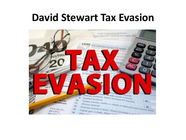 David Stewart Tax Evasion Slide 2